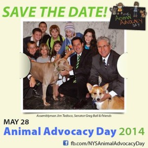 NY Animal Advocacy Day May 28 2014